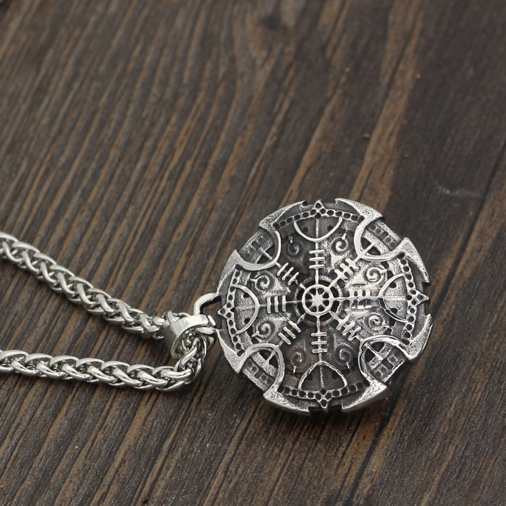 Vegvisir Compass necklace