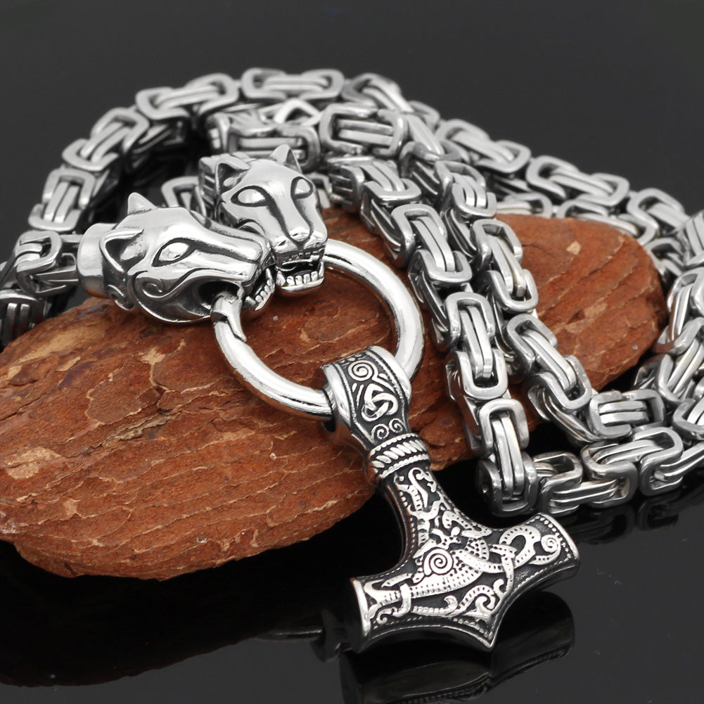 MJOLNIR necklace -KING Chain