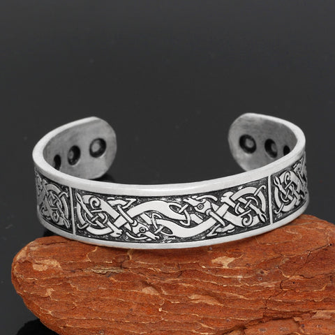 Image of Geri and Freki amulet bracelet