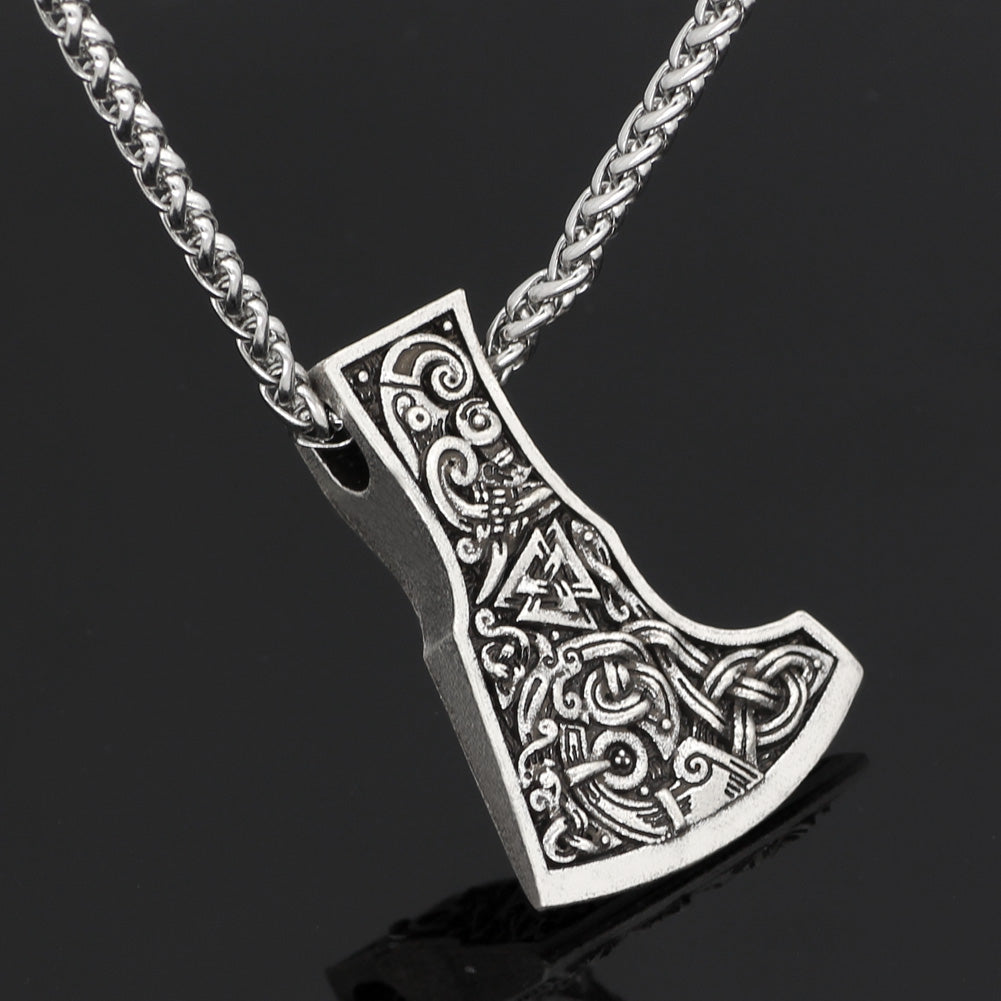 axe  dragon necklace