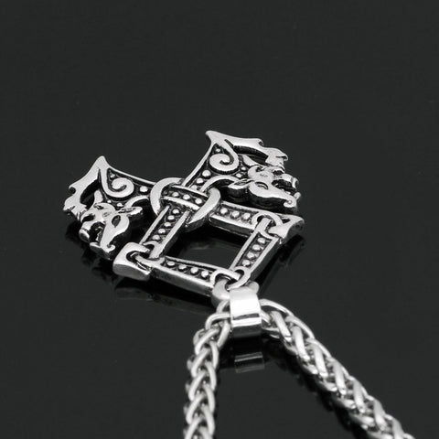 Image of wolf  necklace