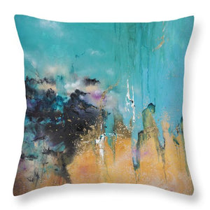 Savannah - Throw Pillow - Jenny Bagwill Art
