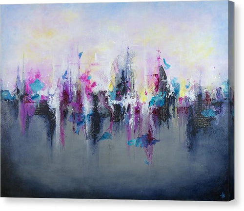 Breaking Boundaries - Canvas Print - Jenny Bagwill Art
