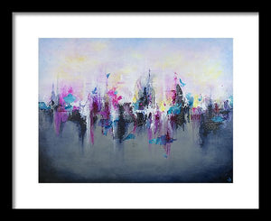 Breaking Boundaries - Framed Print - Jenny Bagwill Art