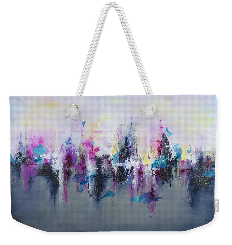 Breaking Boundaries - Weekender Tote Bag - Jenny Bagwill Art