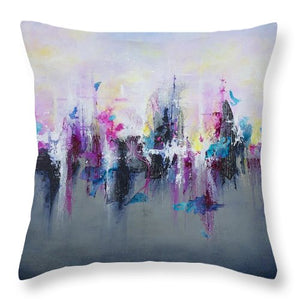 Breaking Boundaries - Throw Pillow - Jenny Bagwill Art