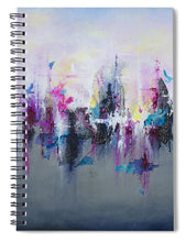 Breaking Boundaries - Spiral Notebook - Jenny Bagwill Art