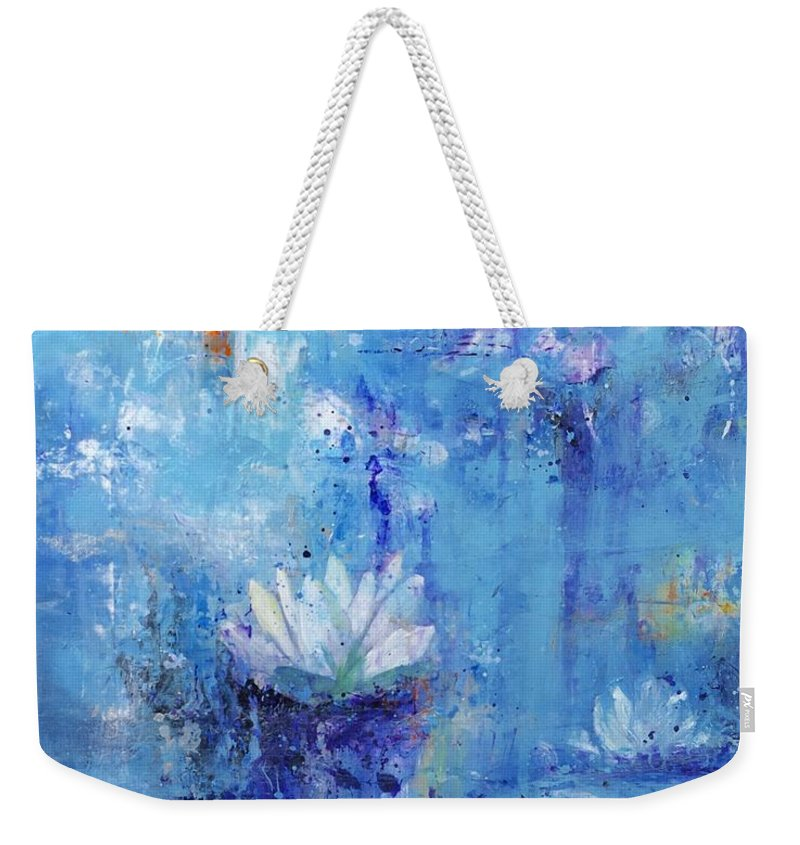 Calm In The Storm - Weekender Tote Bag - Jenny Bagwill Art