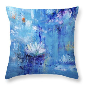 Calm In The Storm - Throw Pillow - Jenny Bagwill Art