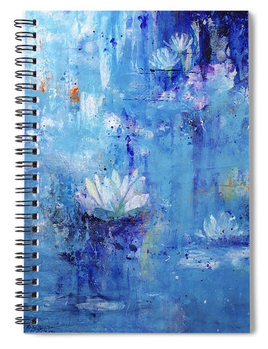 Calm In The Storm - Spiral Notebook - Jenny Bagwill Art