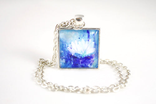 Waterlily Necklace - Jenny Bagwill Art