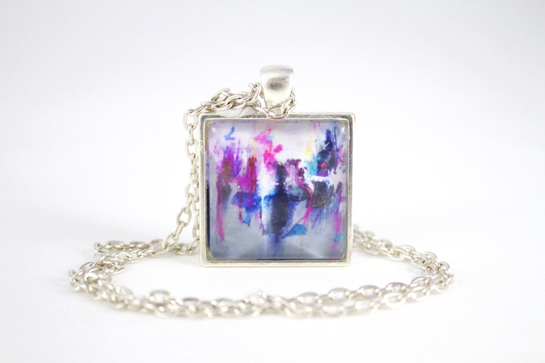 Breaking Boundaries Necklace - Jenny Bagwill Art