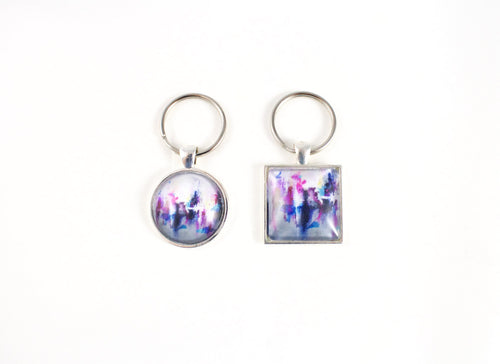 Breaking Boundaries Key Ring - Jenny Bagwill Art