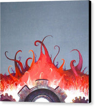 Mecha Uprising - Canvas Print - Jenny Bagwill Art
