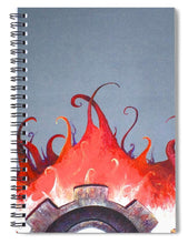 Mecha Uprising - Spiral Notebook - Jenny Bagwill Art