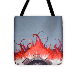 Mecha Uprising - Tote Bag - Jenny Bagwill Art