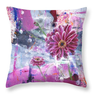 New Life - Throw Pillow - Jenny Bagwill Art