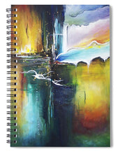 The Crossing - Spiral Notebook - Jenny Bagwill Art