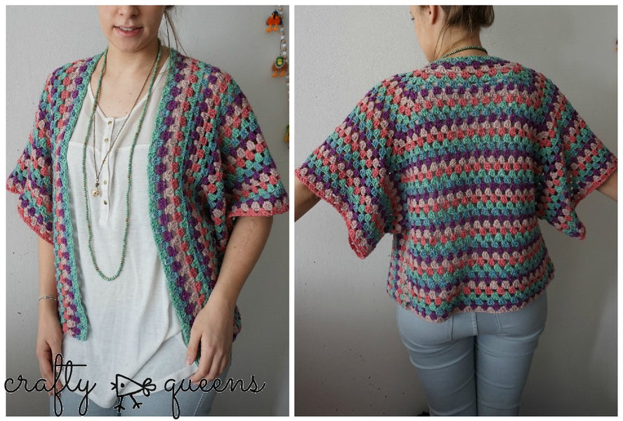 Crochet Rabbit Hole Cardigan