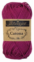 Load image into Gallery viewer, Scheepjes Catona 50g