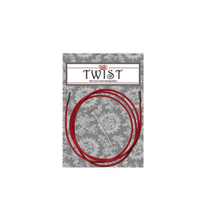 ChiaGoo Red Lace Twist Cable - Small