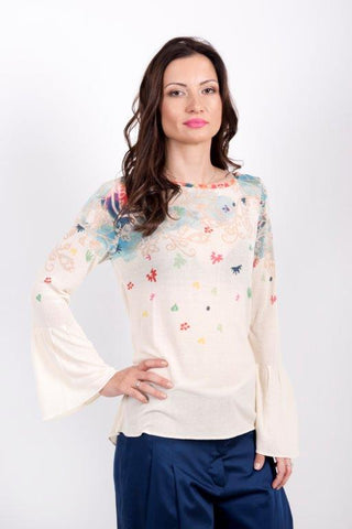 best quality pullover floral print from zana la collection