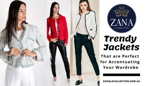 trendy jackets from zana la collection