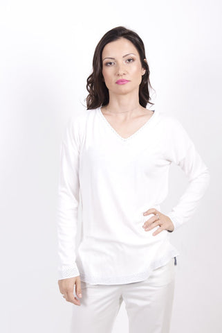 V-Neck Tunic /v - Ivko Women
