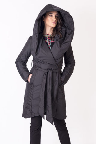 CONTRA Microfiber Knee Length Coat