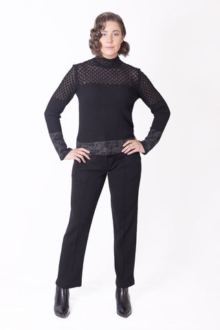 Roll Neck Pullover - Ivko Women