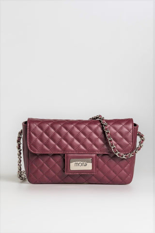 Bordeaux Cross Body Bag - Mona Collection