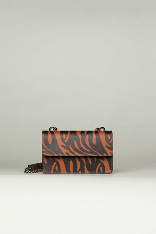 Small Sling Bag in zebra print - Mona