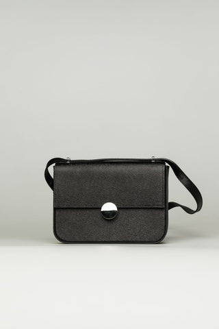 Elegant Small Black Bag - Mona