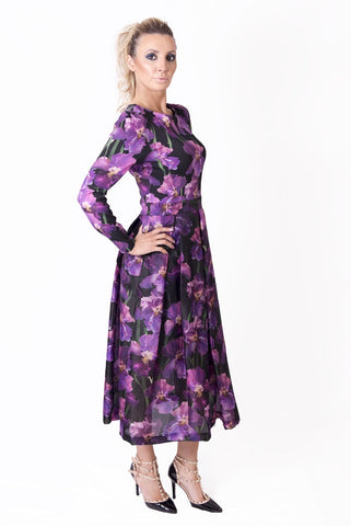 Lavender MONICA CHIC Dress - Lappa Women