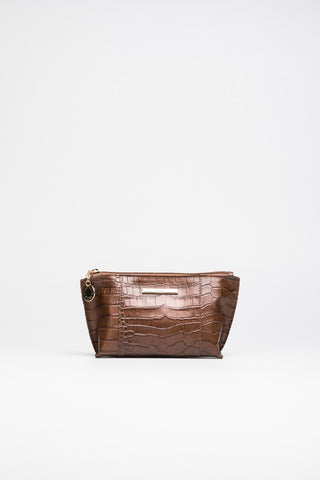 Brown Cosmetic Case