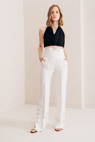 High Waisted Trousers - Mona Collection