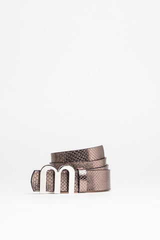 Belt crafted from metalic bronze - Mona Collection