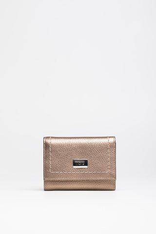 Metallic Gold Wallet - Mona Collection