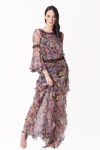 Crepe Silk MILA Dress