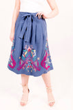 Skirt with Embroidery s/l