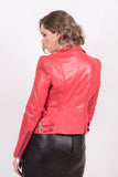 Imperial Red Studded Jacket