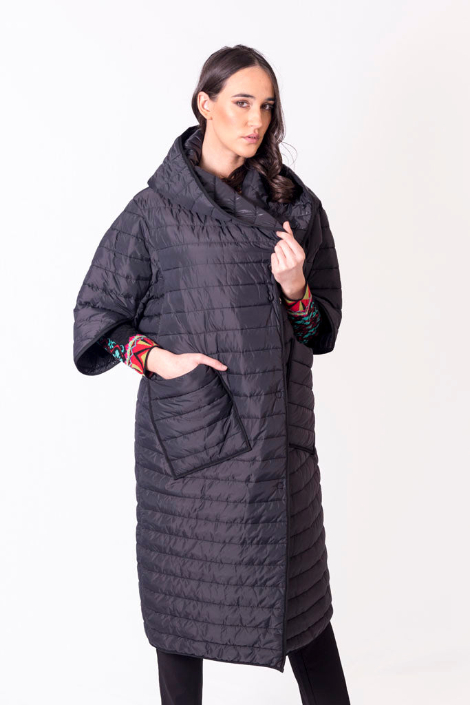 CONTRA Long Vest with Sleeves