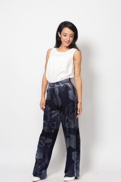 Floral Trousers - Mona Collection