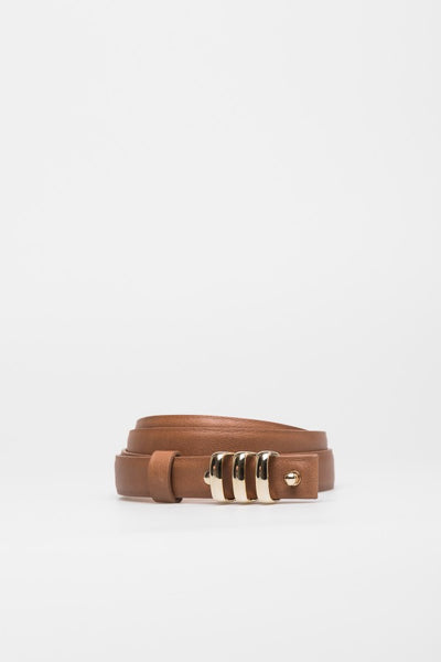 Tan Cow Leather Belt