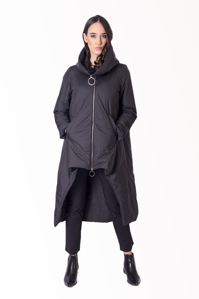 CONTRA Asymmetric 3/4 Coat