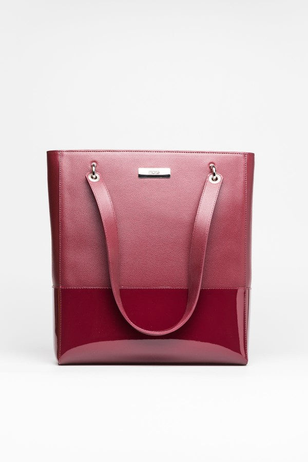 Burgundy Tote - Mona Collection
