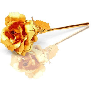 24K Gold Rose Flower - Valentine Special