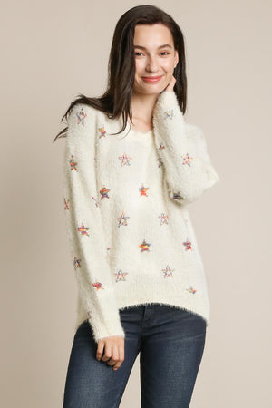 RAINBOW STAR SWEATER