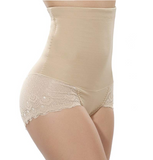 Sexy High Waist Slimming Shaper BoyShort with Lace Butt Lifter - UptownFab™