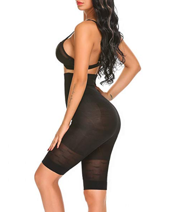 Full Body Slimming Shaper with High Waist & Leg Compression & Butt Lifter - UptownFab™